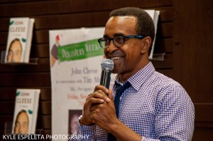 LOS ANGELES, CA - NOVEMBER 21: Actor Tim Meadows hosts a discussion of John Cleese's new book 'So, Anyway' at Barnes & Noble bookstore at The Grove on November 21, 2014 in Los Angeles, California. (Photo by Kyle Espeleta/FilmMagic) *** Local Caption *** Tim Meadows